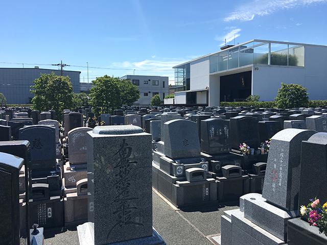江戸川聖地霊園 日当たりのよい墓域