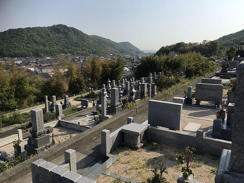 岡山市営 西辛川墓地