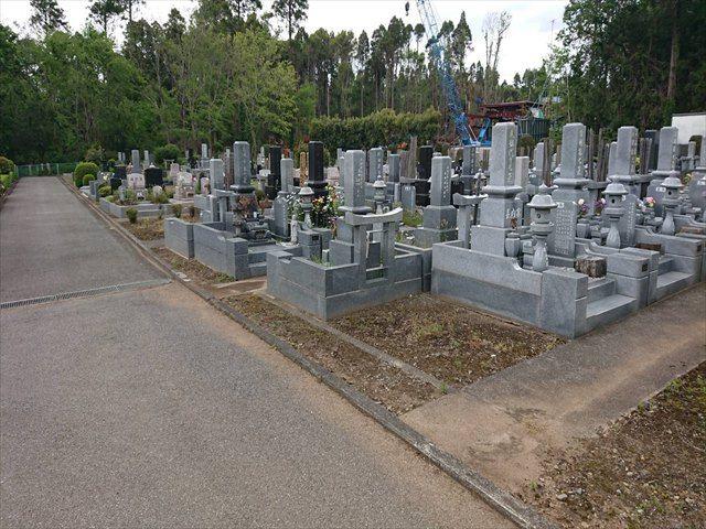中野霊園 木々に囲まれ自然を感じられる墓域