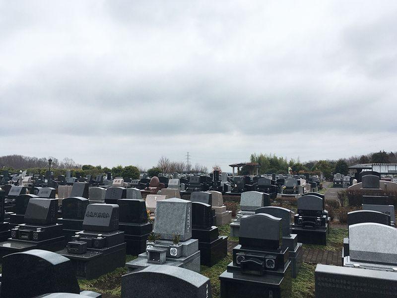 南大沢バードヒルズ 清掃の行き届いた清潔な墓域