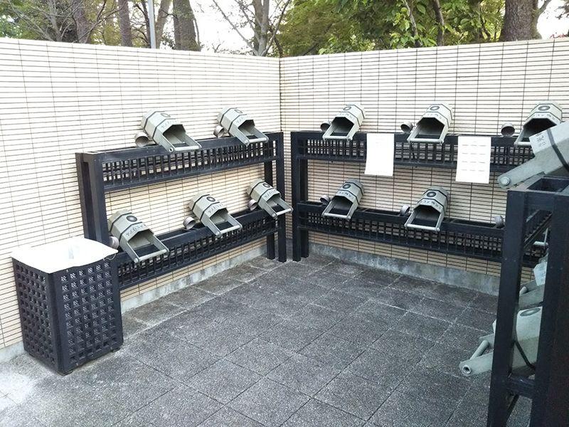 川口光輪メモリアル 永代供養墓「光」 参拝用具置き場