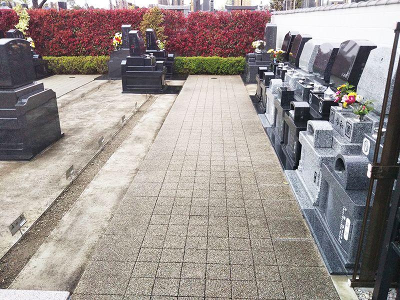 まどかの杜永代供養墓 区画整理された墓域