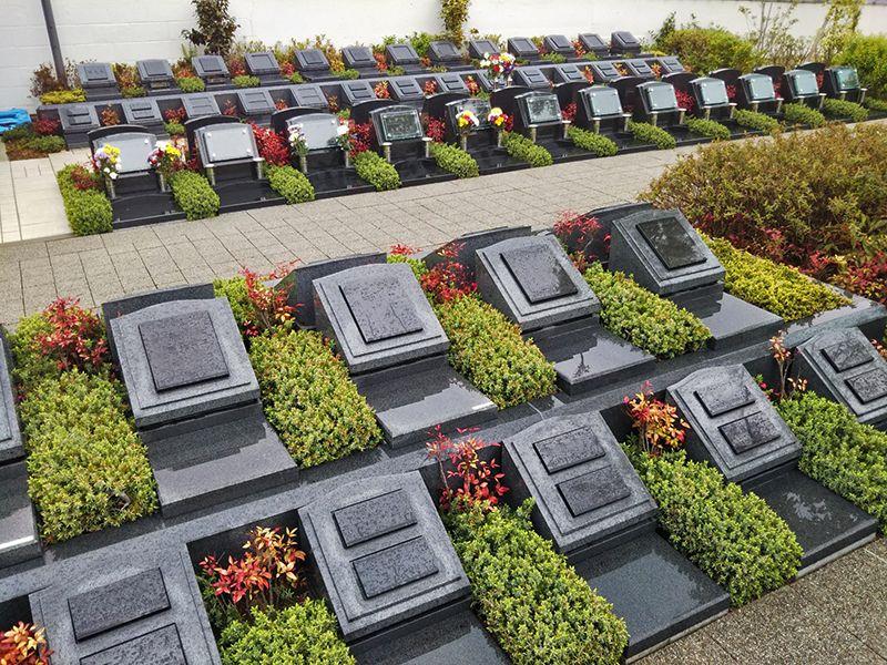 まどかの杜永代供養墓 美しいガーデニングの永代供養墓