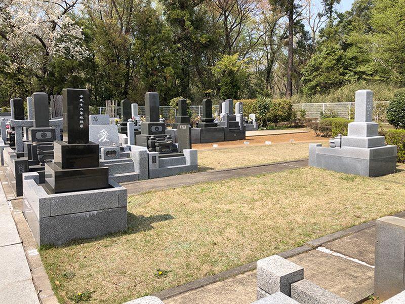 香華院第2千葉東霊苑 一般墓所風景