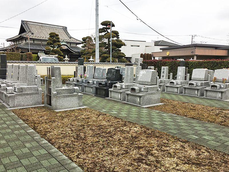 やすらぎ永久の碑 管理が行き届いている墓域