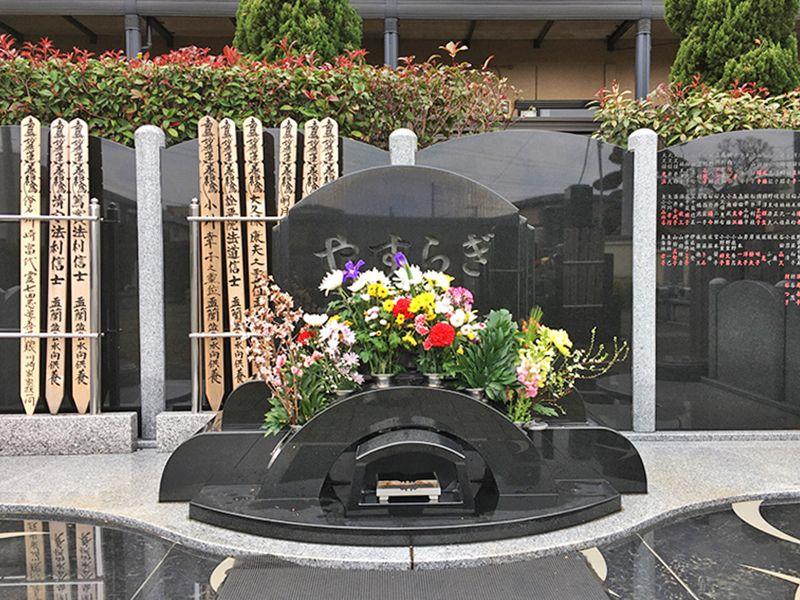 やすらぎ永久の碑 集合型の納骨壇