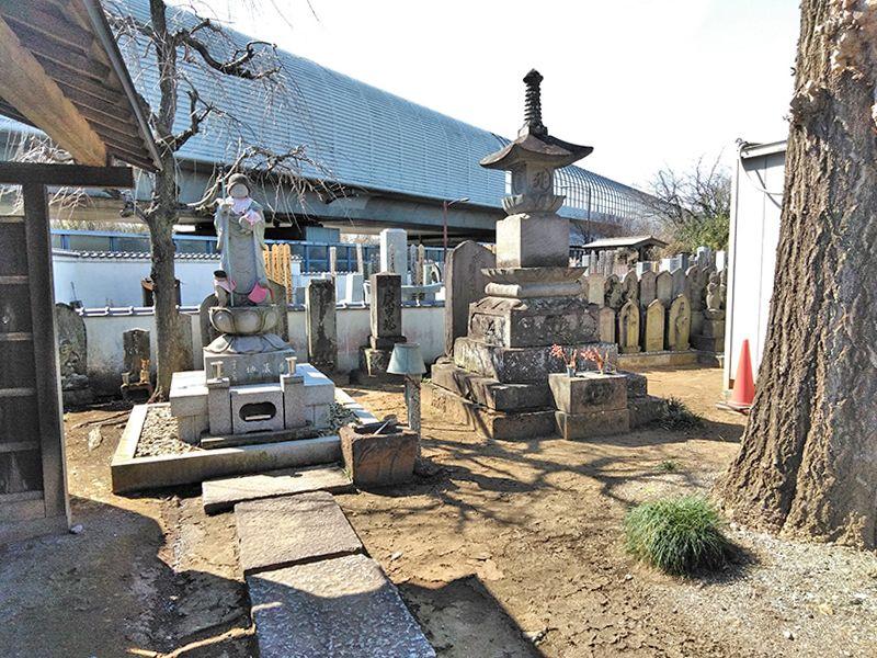川口草加霊園 はじまりの杜 子育て地蔵尊像