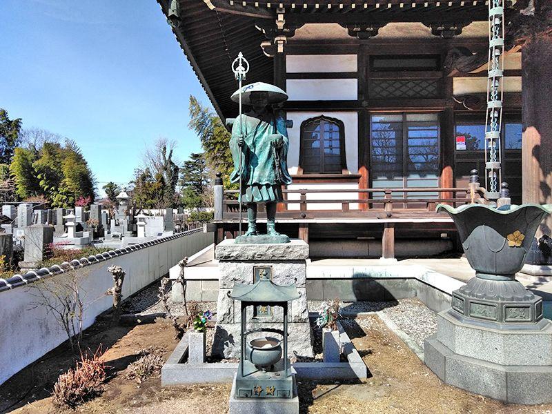 川口草加霊園 はじまりの杜 弘法大使像