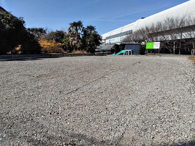 川口草加霊園 はじまりの杜 広々とした駐車スペース