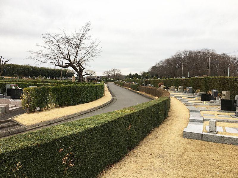 所沢中央霊園 ゆとりのある区画