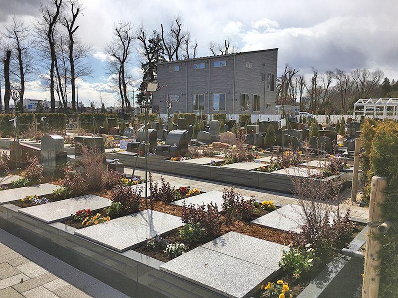 やすらぎの花の里 所沢西武霊園 区画整備が整っている墓域