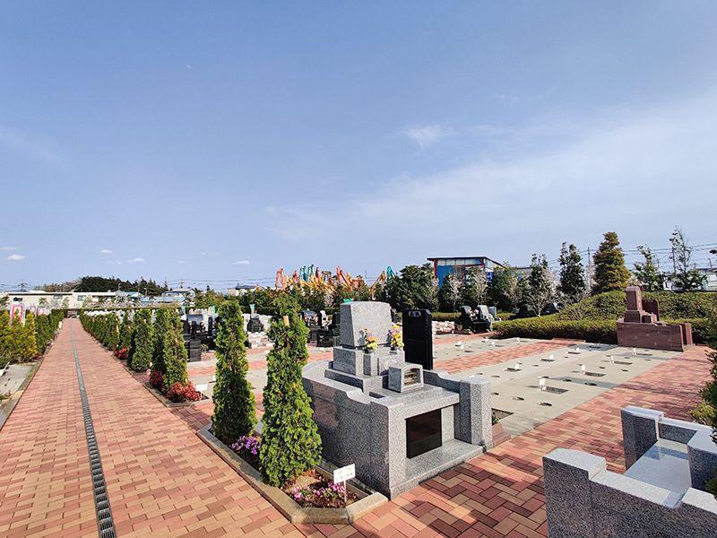 合掌の杜 横浜下川井霊園 洋型墓石