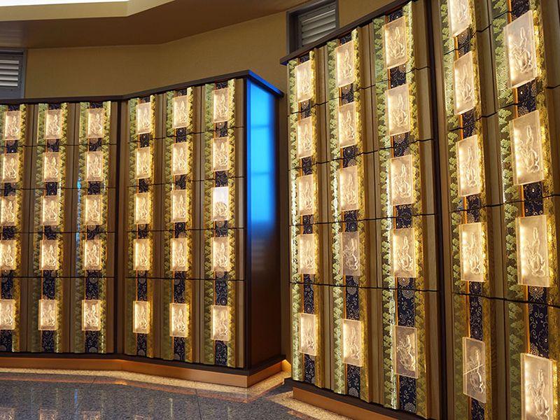美原東ロイヤルメモリアルパーク 観音堂にある納骨壇