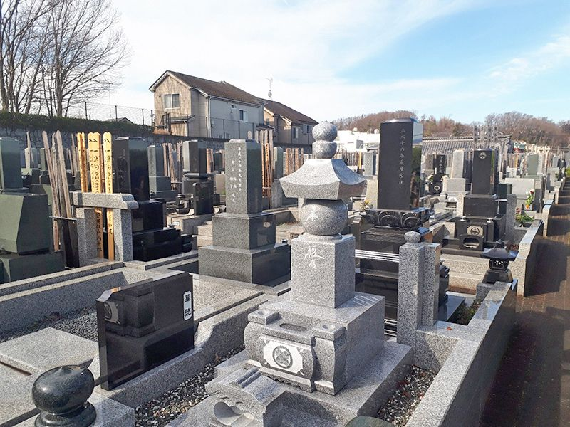 多摩の郷 開放的な墓域