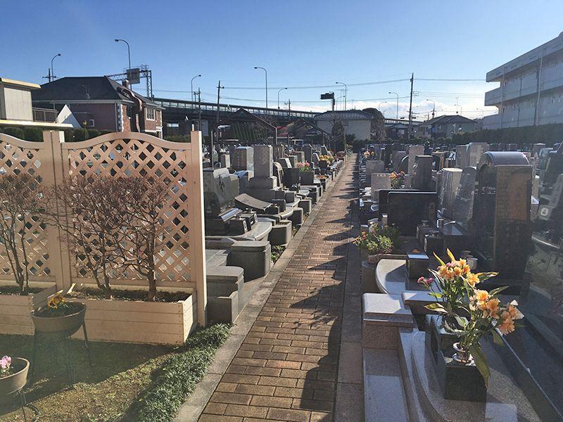 メモリアルガーデン調布 永代供養墓「悠久の丘」 日当り良い墓域