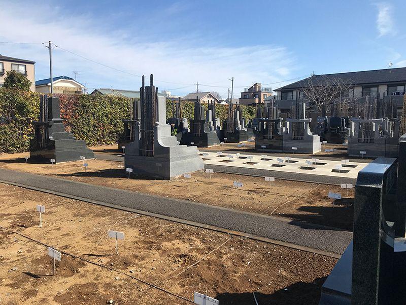 越谷樹木葬墓地 販売中の区画