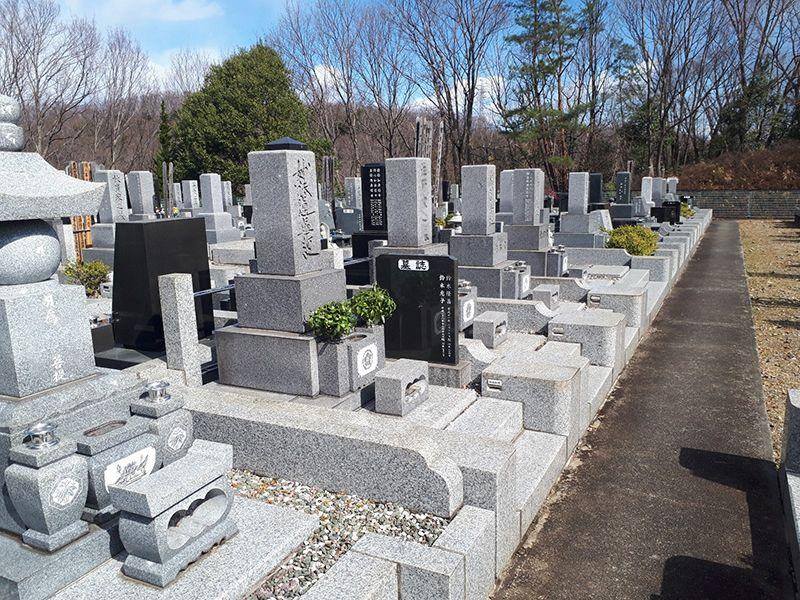 八王子道玄霊園 広々とした墓域