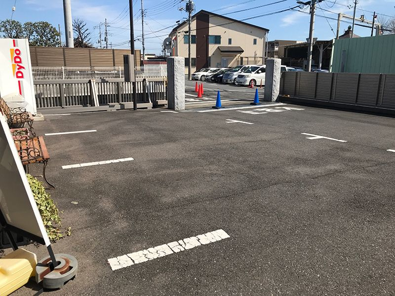 第二草加聖地霊園 毛長の里 駐車スペース
