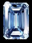 ブルーのダイヤモンド