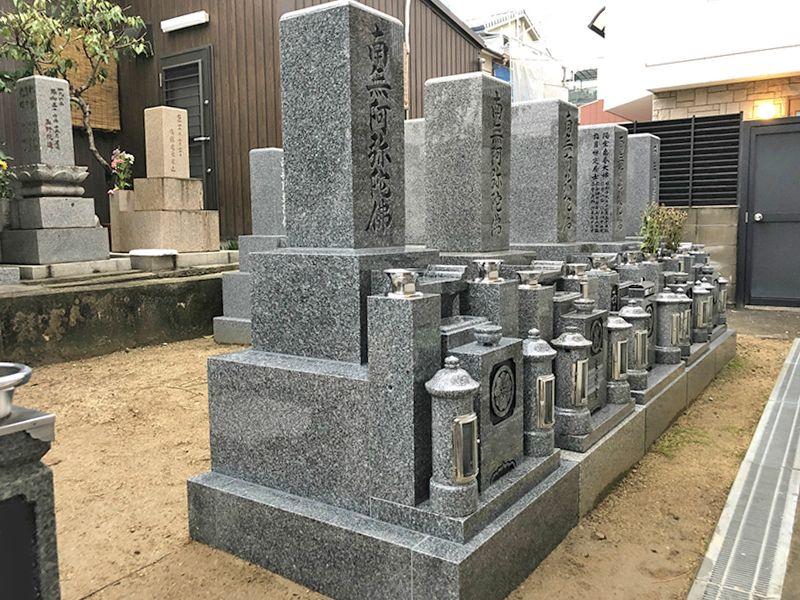 恩楽寺霊苑 墓所内風景