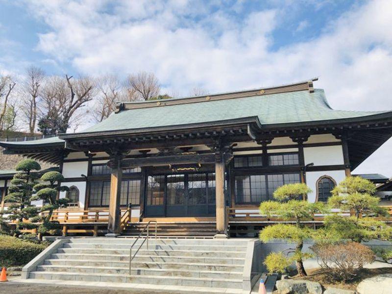 永林寺 のうこつぼ 本堂入口