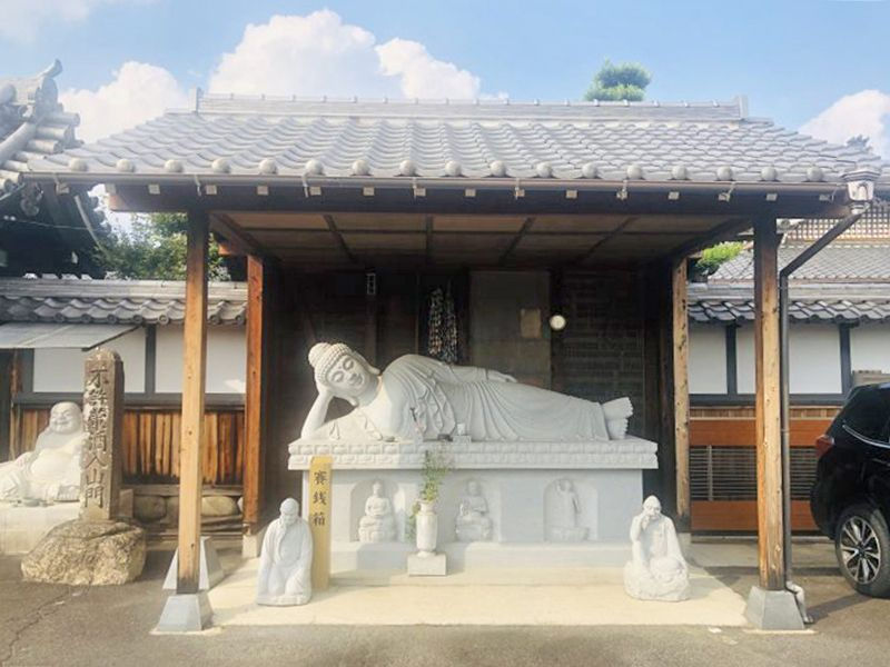 龍潭寺 のうこつぼ