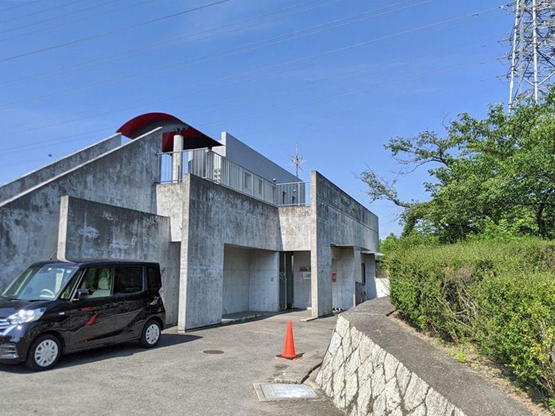 泉佐野市公園墓地 駐車スペース