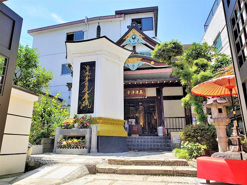 日当たりの良い真清浄寺 永代供養墓 六角堂 ひかりの外観