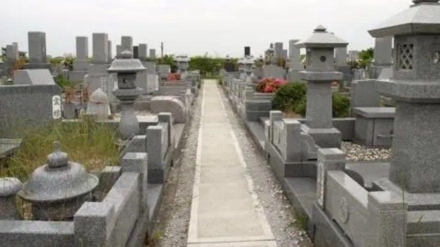 神戸市立西神墓園の墓域
