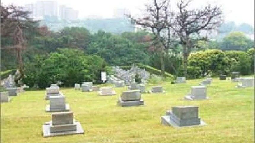 神戸市立舞子墓園の墓域
