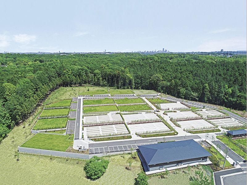 2020年8月1日にオープンした公園墓地 川井聖苑