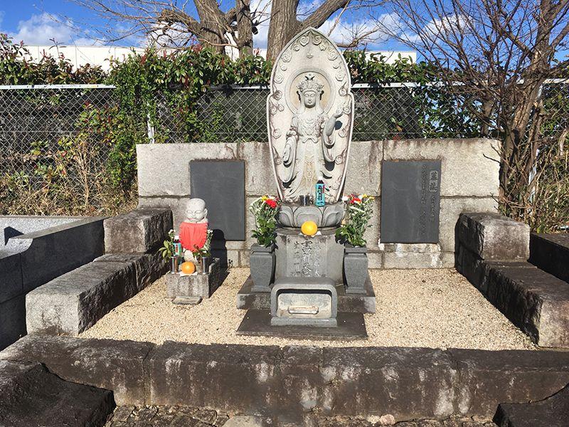 メモリアルパーク吉祥天 園内にある仏像
