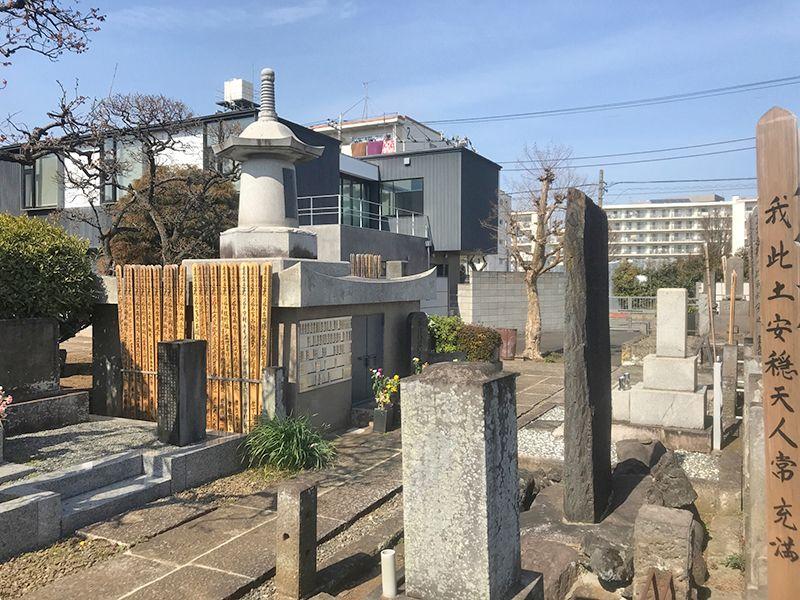 世田谷メモリアル 永代供養塔