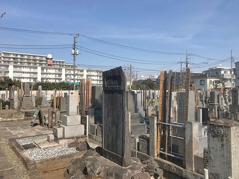 世田谷メモリアル 御影石が美しい墓石