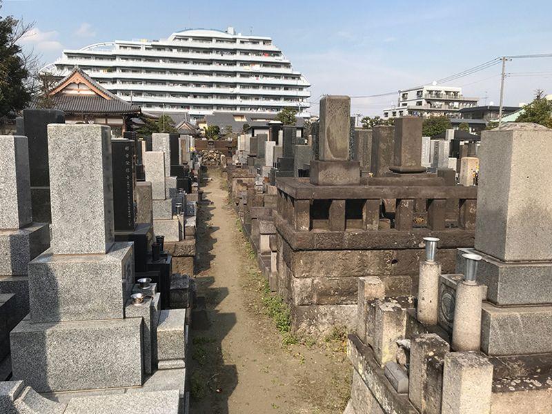 大田萩中霊園 一般墓所