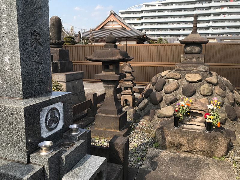 大田萩中霊園 エリア唯一の完全自由霊園