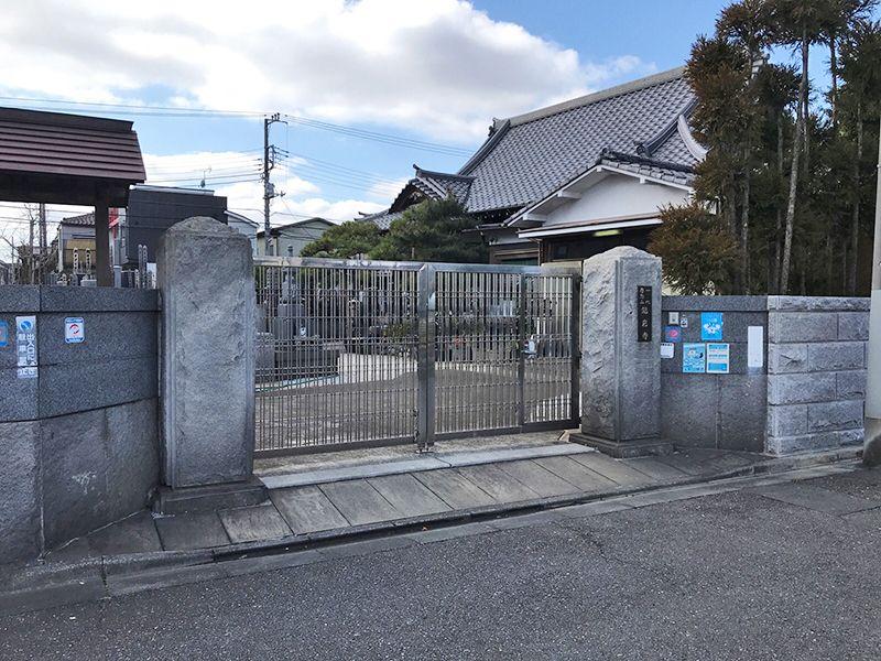 龍岩寺 園内入口