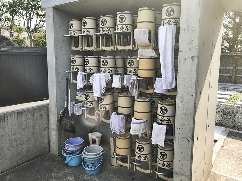 古川浄苑 水汲み道具も多数完備