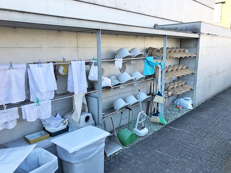 江東メモリアル 自由に使える清掃用具