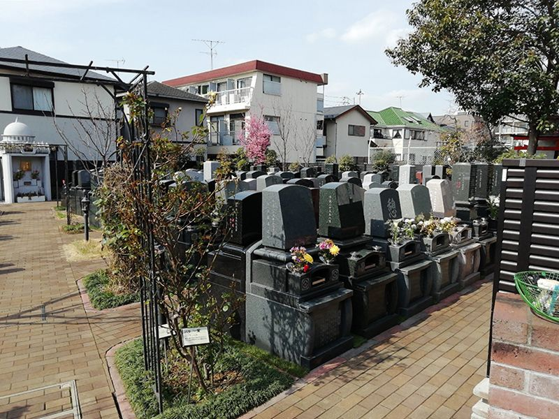 法眞寺 本郷赤門前霊園 の区画