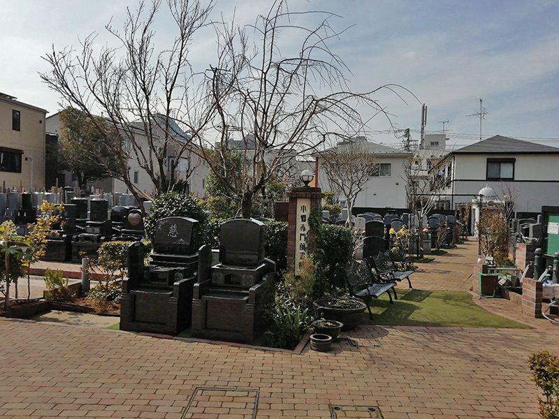 法眞寺 本郷赤門前霊園の区画