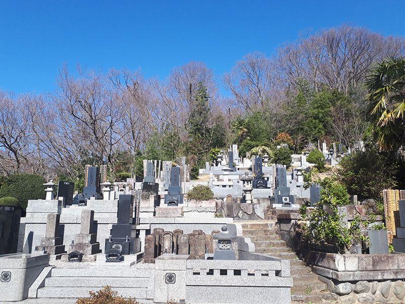 少林寺聖地霊園 開放的な墓域
