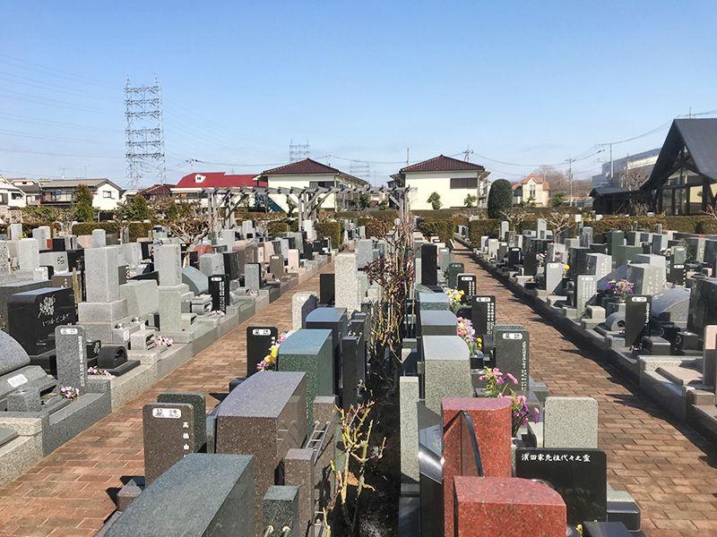府中・国立メモリアルパーク 日当たりの良い墓域