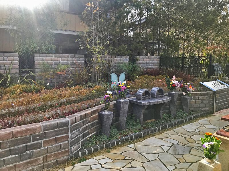 うらわ美園霊苑「永遠の絆」永代供養墓 樹木葬「光」