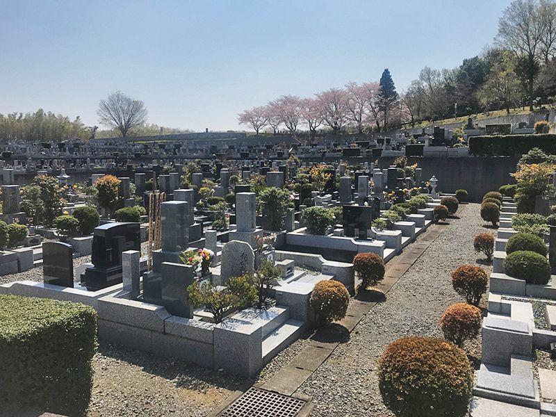 森林公園昭和浄苑 永代供養墓「浄縁墓」 区画整理された墓域