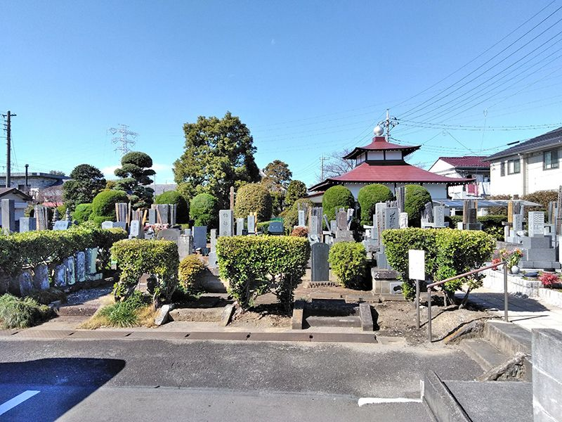 川口新郷樹木葬墓地 温かい雰囲気の墓域