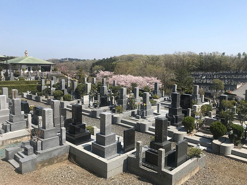 森林公園昭和浄苑「&安堵」 四季を感じられる墓域