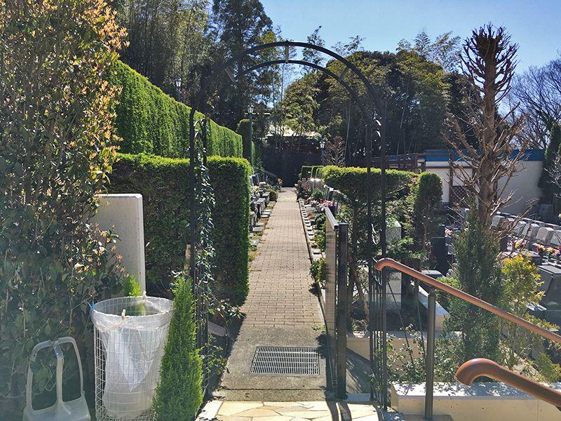 メモリアルガーデン藤沢 美しい英国式ガーデン