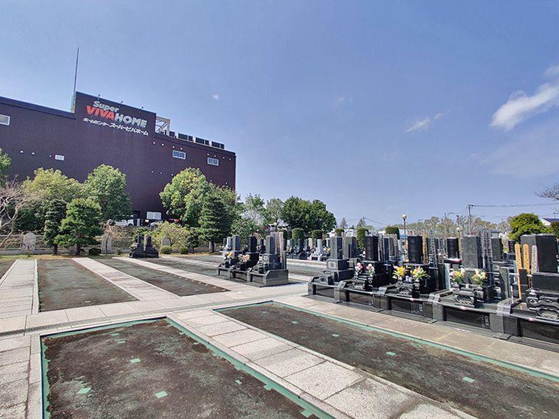 大林寺別院霊園 大きな空を望める墓域