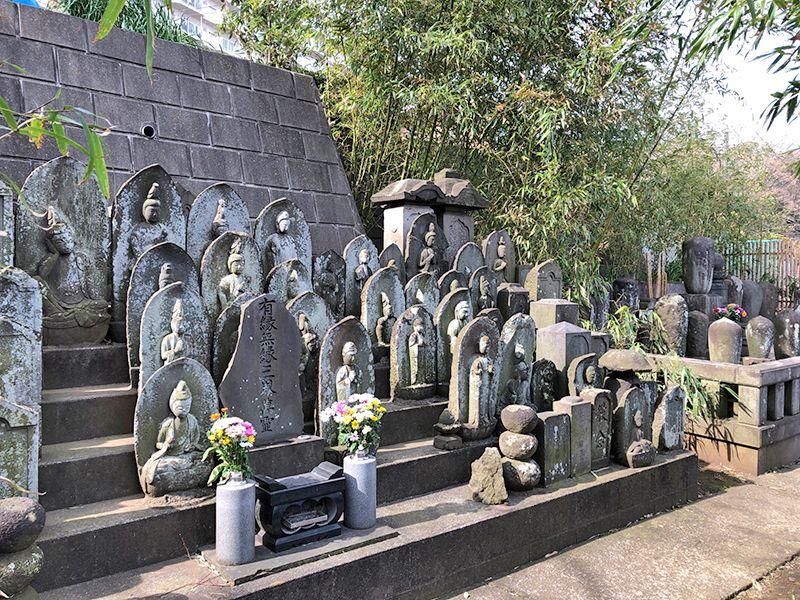 戸塚花観音墓苑 苑内一角の様子